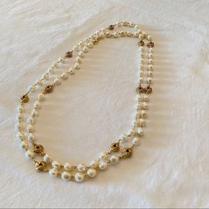 Joan Rivers Pearl Gold-tone Necklace